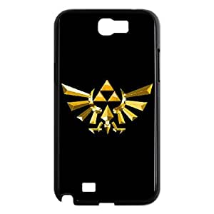 Samsung Galaxy N2 7100 Cell Phone Case Black Legend of Zelda jec