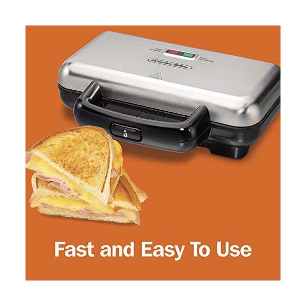 Proctor Silex 25408Y Sandwich Toaster Free Ship Make Sandwiches and More