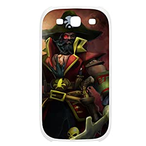 Gangplank-005 League of Legends LoL case cover Ipod Touch 5 Plastic White