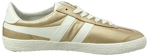 Metallic Specialist White Off Gola Sneaker 8 Size Women's M Leather Gold 7xSwB