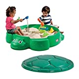 Turtle Round Sandbox-Construction Material: 100% Plastic