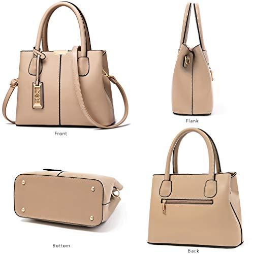 COCIFER Purses and Handbags for Women Shoulder Tote Bags Top Handle Satchel