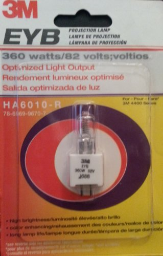 3M Projection Lamp HA6010 R 78 6969 9670 7