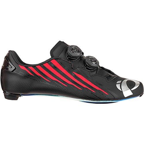 クラウン大工フリンジ(パールイズミ) Pearl Izumi Pro Leader V4 Limited Edition Cycling Shoe メンズ ロードバイクシューズBlack/Red [並行輸入品]