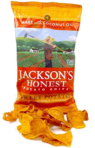 (Jackson's Honest Sweet Potato Chips, Cooked in Coconut Oil, Paleo Friendly, 5 Oz, (1 Pack))