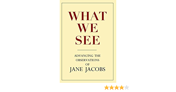 What We See: Advancing the Observations of Jane Jacobs ...
