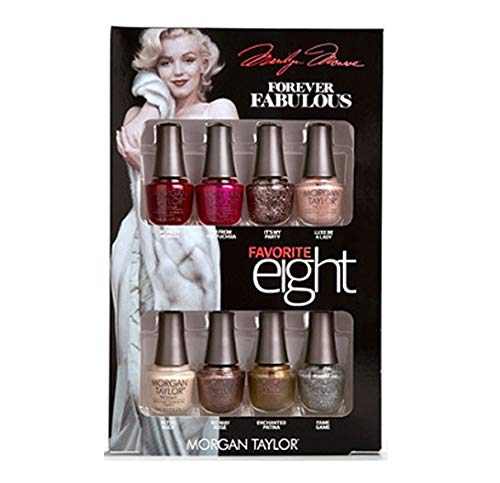 チャペルくまメンテナンスMorgan Taylor - Forever Fabulous Marilyn Monroe - Mini 8 Pack - 5 mL / 0.17 oz Each