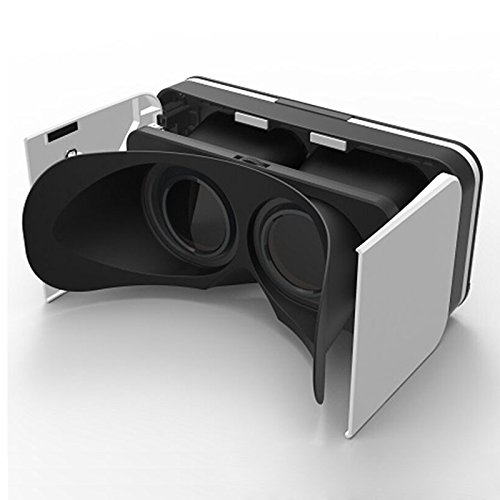 Light 3D Viewer for Android Cardboard and iPhone VR 2017 GenBasic Folding Virtual Reality Headset