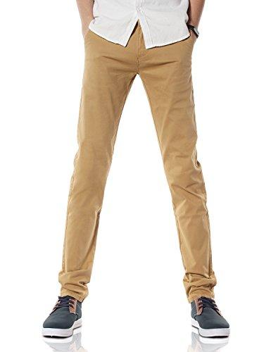 Demon&Hunter 910X Slim-Fit Series Men's Stretch Casual Pants DH9103(34)