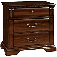 247SHOPATHOME Idf-7791N, nightstand, Cherry