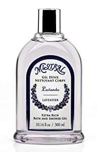 Mistral Shower Gel, Lavender, 10.14 fl oz