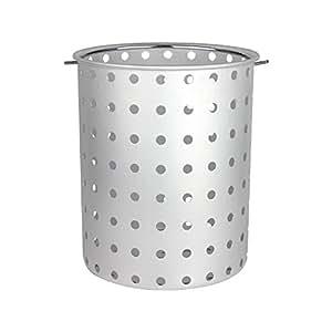chard afb-30sartén de aluminio cesta para macetas, 30-quart