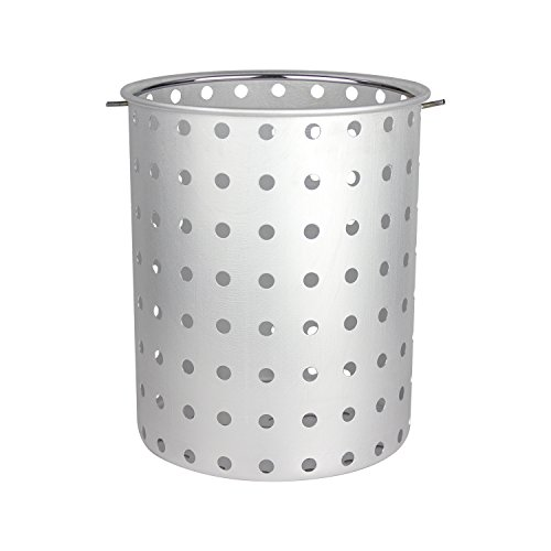 CHARD AFB-30 Aluminum Frying Basket Pots, 30-Quart