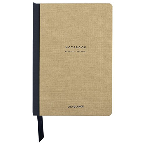 AT-A-GLANCE Professional Meeting Notebook, 5.88 x 8.75 Inches, Collection, Tan (YP13507)
