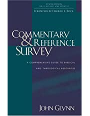 COMMENTARY AND REFERENCE SURVEY