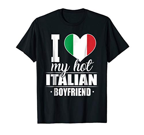 i love italian girls shirt - 4