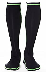 WETSOX Wader Sox, RNF Black, Size Small, Frictionless Wading Socks, Get in and Out of Any Wader or Boot Easily, 1mm Neoprene Keeps Feet Warm Wet or Dry