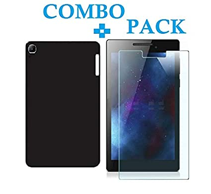 lowest price f9285 6e894 Azzil Back Cover, Tempered Glass, Premium Real Perfect Fit Silicone ...