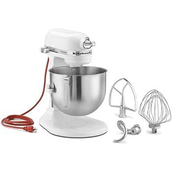 Amazon Com Kitchenaid 7 Qt Commercial Stand Mixer White