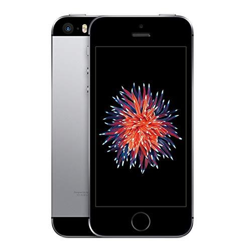 Apple iPhone SE 16GB GSM Unlocked Phone - Space Gray (Renewed)