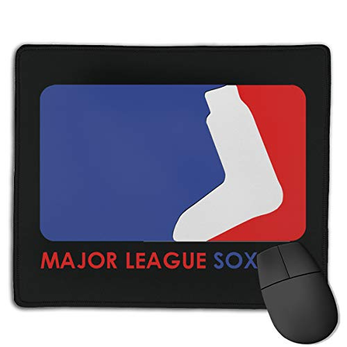 Kim Mittelstaedt Custom Major League Sox Fan Rectangle Waterproof Material Non-Slip Rubber Gaming Mouse Pad