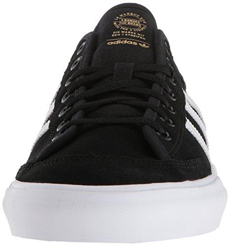 adidas uomini pattinare scarpa nero / bianco / matchcourt clearance bianco
