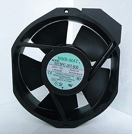 ORIGINAL NMB COOLING FAN 5915PC-20T-B30 200V 34//33W 172*150*38mm