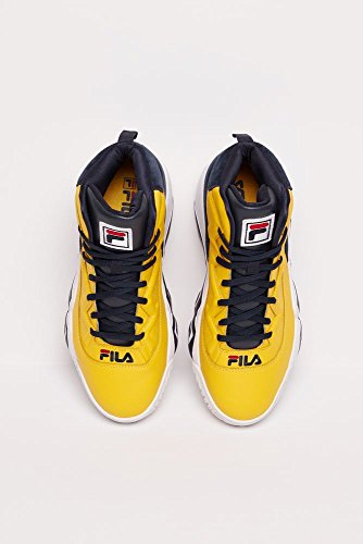 Fila Men's MB Heritage Sneaker Yellow/Blue Check cheap sale browse free shipping sale PBjdbnFx