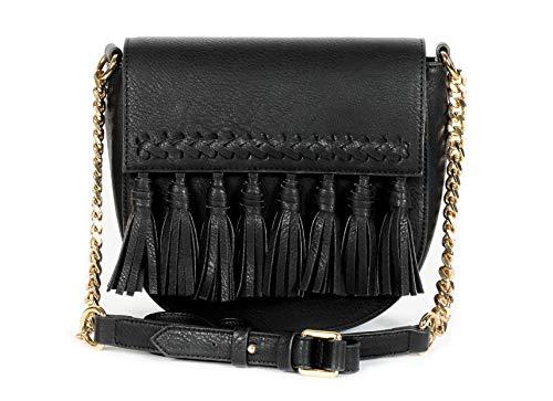 Dolce Vita Women's Vegan Leather Black Crossbody Bag