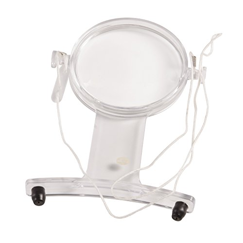 HealthSmart Hands-Free Magnifier for Reading, 3x Magnification by HealthSmart