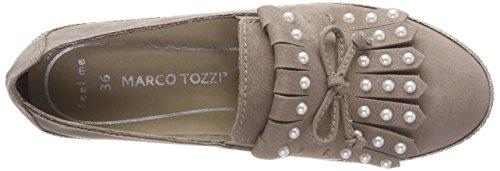 24601 Beige Taupe premio Loafers MARCO Women's TOZZI 341 TCwtqA