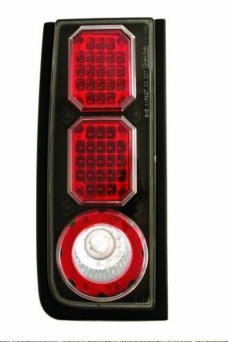 IPCW LEDT-343CB Bermuda Black LED Tail Lamp - Pair