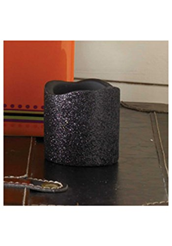 2-inch-black-glitter-led-candle-st