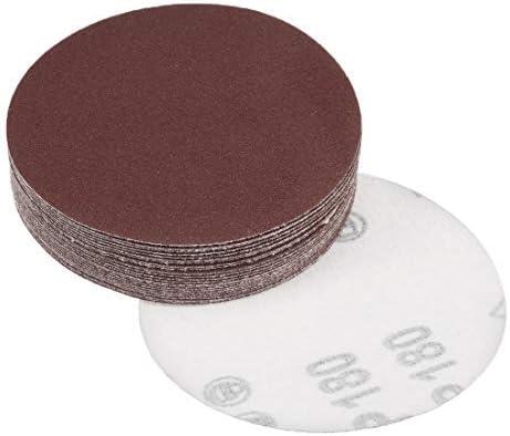 - 4-Inch Sanding Disc, 180 Grains, Aluminum Oxide Sanding, Sanding Paper für Sanders, 25 Pieces