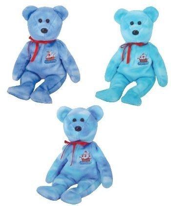 TY Beanie Babies - NINA, PINTA & SANTA MARIA (Set of 3 - Columbus - Columbus Malls