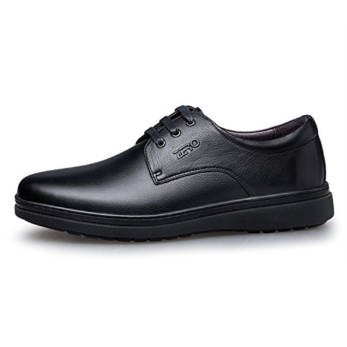 Zro Mens Snörning Klänning Oxford Märkesvaror Mode Skor Svarta