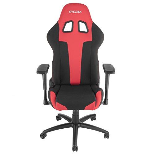 413jjOwx06L - Spieltek-Berserker-Gaming-Chair-V2-Fabric-Red
