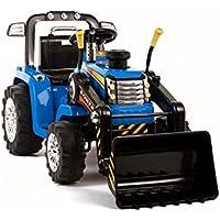 Tractor Rojo dos velocidades con Remoto control