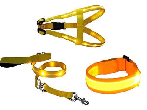 led light dog harness - 4