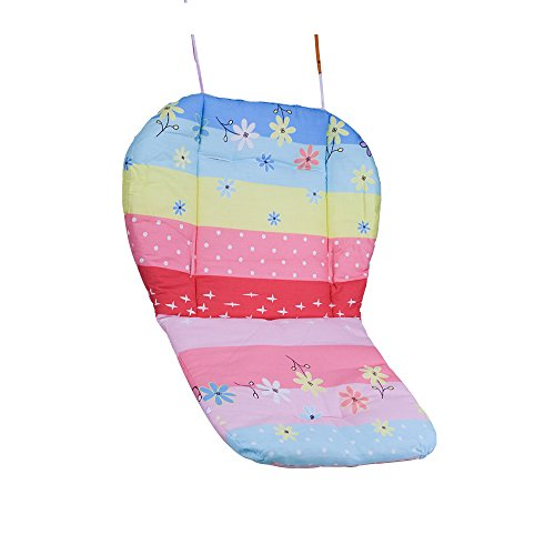 Topwon Baby Stroller/Car Seat/High Chair Wateroof Rainbow Striped Breathable Cushion Seat Liners Cover Protector by Topwon