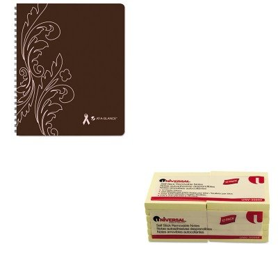 KITAAG794905UNV35668 - Value Kit - At-a-Glance Sorbet Weekly/Monthly Planner (AAG794905) and Universal Standard Self-Stick Notes (UNV35668)