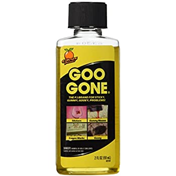 goo gone 2oz bottle citrus scented cuts grease oil gum adhesive residue 1. Black Bedroom Furniture Sets. Home Design Ideas