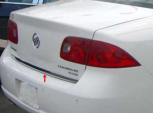 (Made In USA! Works With 2006-2011 Buick Lucerne Rear Trunk Chrome Molding Trim 1.5