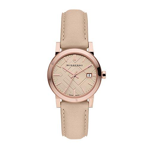 Beige Leather Watch - 1