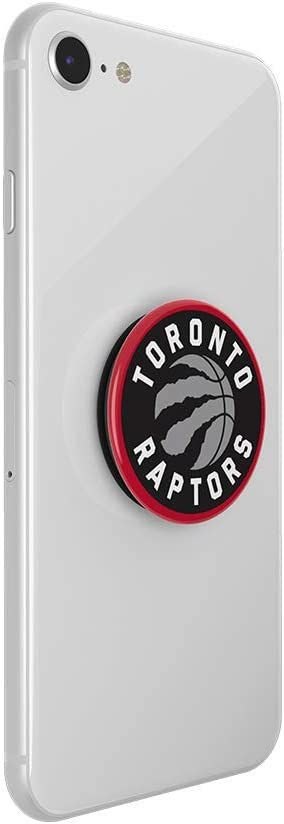 Toronto Raptors Logo NBA PopGrip with Swappable Top for Phones /& Tablets PopSockets