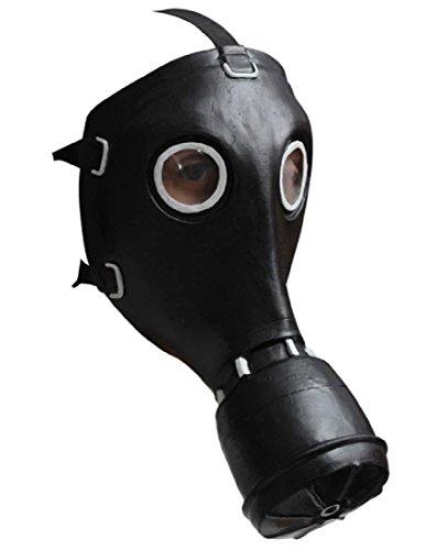 Gp-5 Gas Black Latex Mask