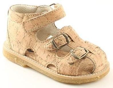 c9d0027e74a Arauto Rap Cork Baby Sandals - Vegetarian/Vegan Baby Sandals - Cork Sandals  (UK