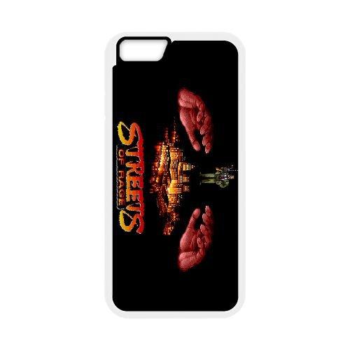 Streets Of Rage2 coque iPhone 6 4.7 Inch cellulaire cas coque de téléphone cas blanche couverture de téléphone portable EEECBCAAN04719
