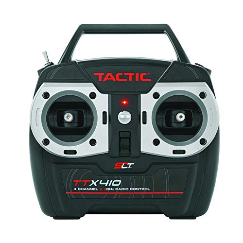 (Tactic TTX410 SLT 2.4Ghz 4-Channel RC Air Radio System with Switch Harness: 4CH TX | TR625 6CH Dual RX | No Servos)
