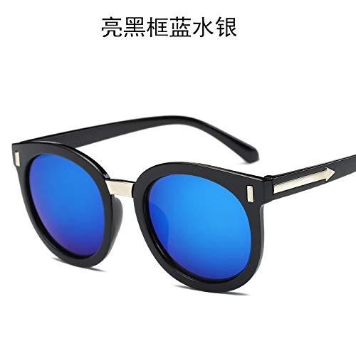 blue de Soleil mercury black de Unisexe frame Dames Soleil Bright Burenqiq Lunettes Lunettes Mode Eq7wwpYS
